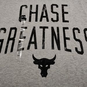 UA x Project Rock Chase Greatness